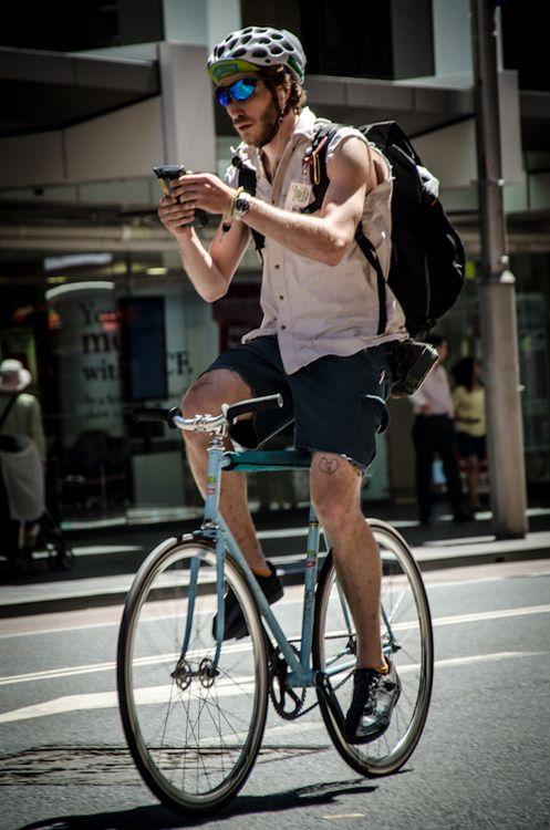 Bike Messenger Boy Clairemccabemusic
